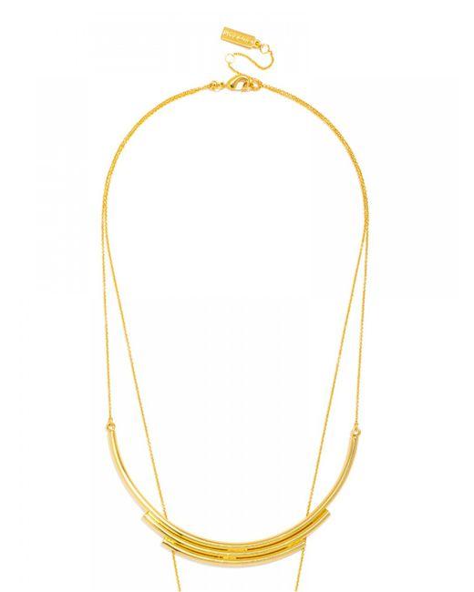 BaubleBar | Metallic Cosmos Tiered Necklace | Lyst