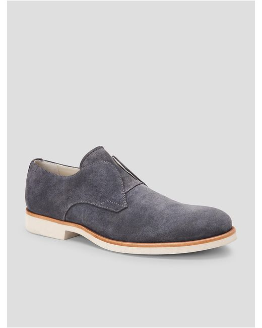 CALVIN KLEIN 205W39NYC - Gray Federico Suede Loafer for Men - Lyst