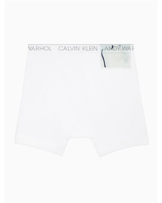 Calvin Klein - White Andy Warhol: Exposures Boxer Brief for Men - Lyst