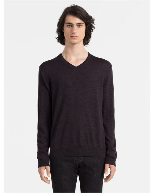 Calvin Klein 205W39nyc logo v-neck sweater Perfect Cheap Price Outlet Sale Outlet Low Cost Outlet Websites Xx8pVOYx