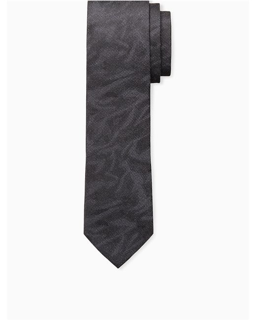 Calvin Klein | Black Steel Abstract Camo Tie for Men | Lyst