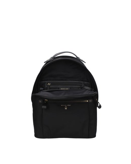 9093ad521992 ... Michael Kors - Backpacks And Bumbags Kelsey Lg Women Black - Lyst ...
