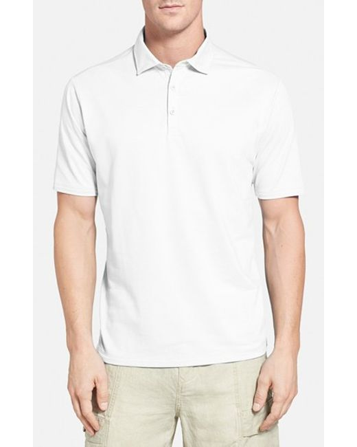 Tommy Bahama | White 'double Eagle Spectator' Island Modern Fit Polo for Men | Lyst