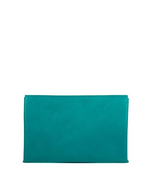 Linea Pelle | Green Hunter Clutch | Lyst