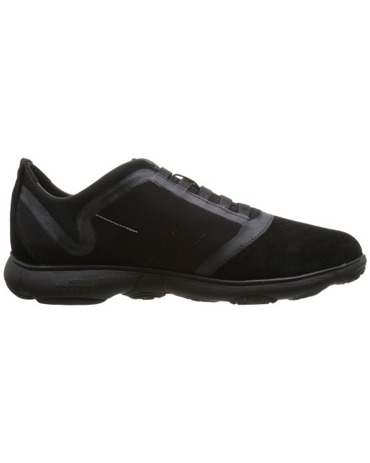 Geox | Black Nebula Lace Up Trainers for Men | Lyst