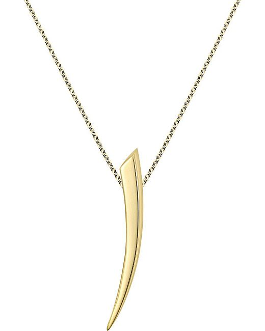 Shaun Leane | Sabre Yellow-gold Pendant Necklace | Lyst