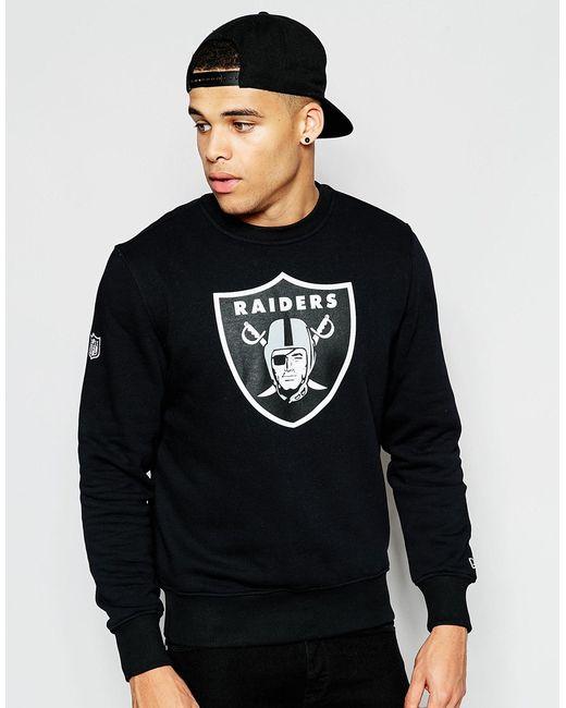 KTZ | Oakland Raiders Sweatshirt - Black for Men | Lyst