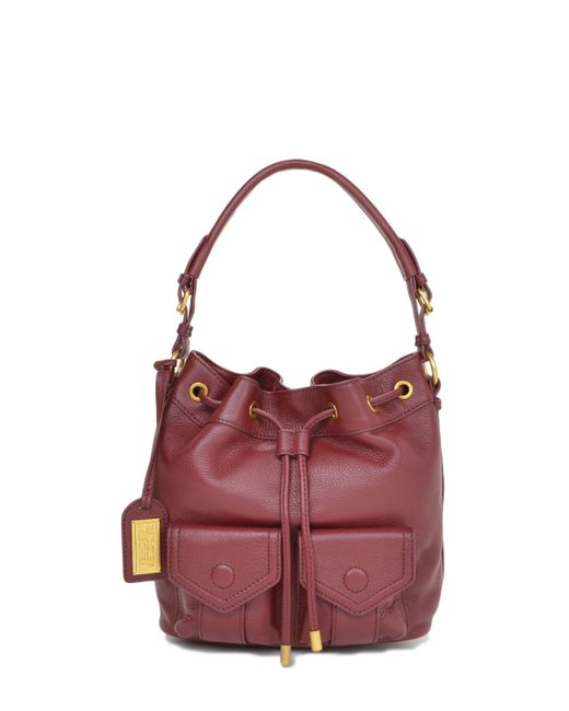 Badgley Mischka | Purple Leia Soft Pebble Handbag | Lyst