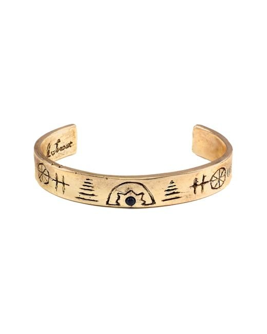 Lulu Frost | Metallic George Frost G. Frost Native Culture Cuff | Lyst