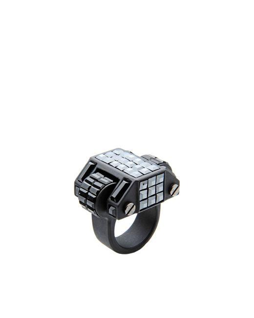 Lanvin | Gray Ring | Lyst