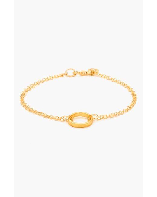 Gorjana   Metallic 'g Pressed' Bracelet   Lyst