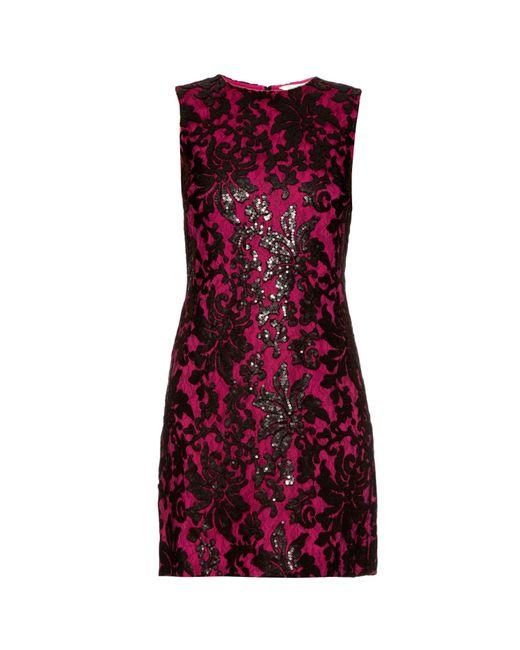 Diane von Furstenberg | Red 'kaleb' Dress | Lyst