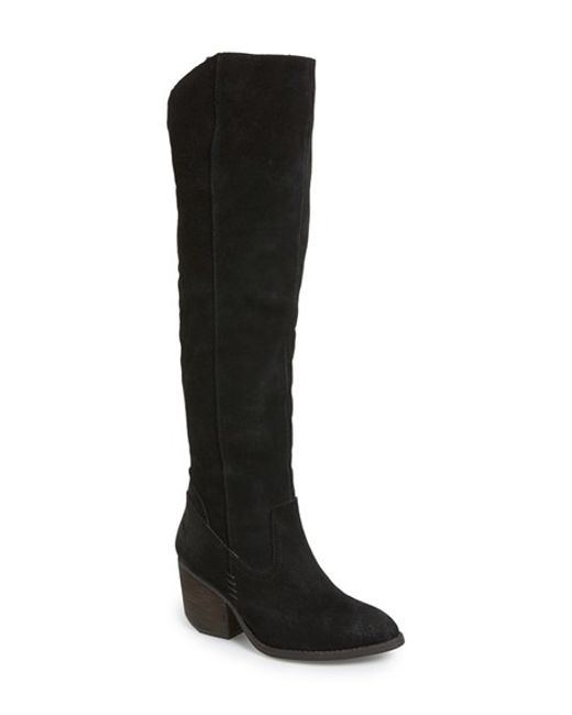 Jeffrey Campbell | Black Oakmont Knee-High Boots | Lyst