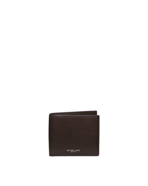 Michael Kors | Brown Bryant Leather Billfold Wallet for Men | Lyst