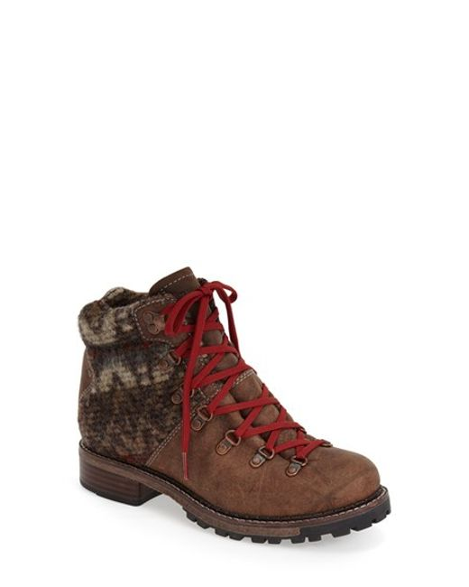 Woolrich | Brown 'rockies' Hiking Boot | Lyst