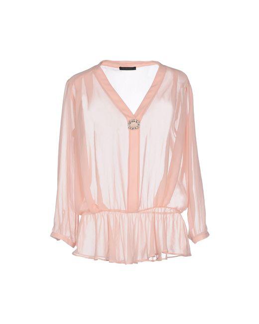 Pinko | Pink Blouse | Lyst