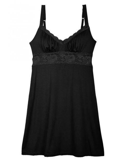 Cosabella | Black Talco Lace Chemise Dress | Lyst