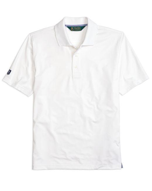 Brooks Brothers | White St. Andrews Links Golf Polo Shirt for Men | Lyst