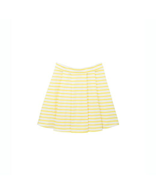 Petit Bateau | White Women's Sailor Striped Jersey Skirt | Lyst
