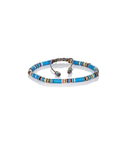 M Cohen | Blue Rondelle Bracelet | Lyst