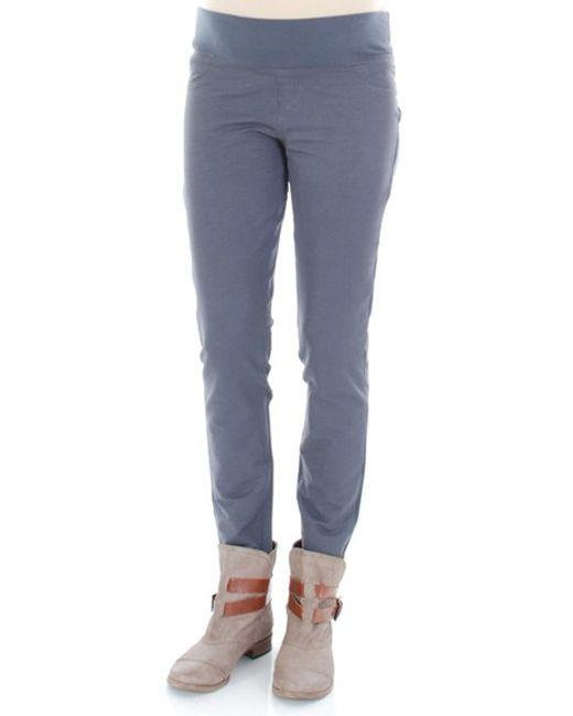 Everly Grey | Gray 'hunter' Straight Leg Maternity Pants | Lyst