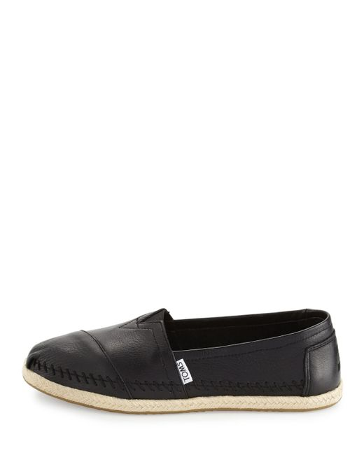 Toms Black Friday Leather Shoes