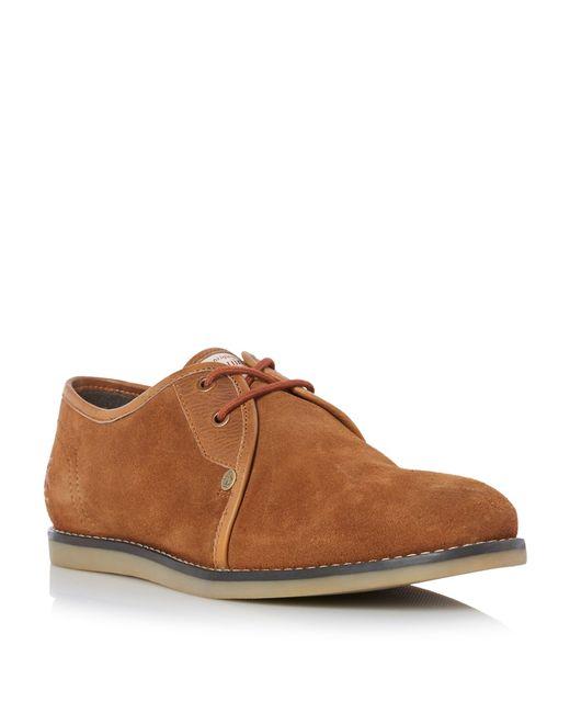 Original Penguin | Brown Legit Suede Lace Up Shoes for Men | Lyst
