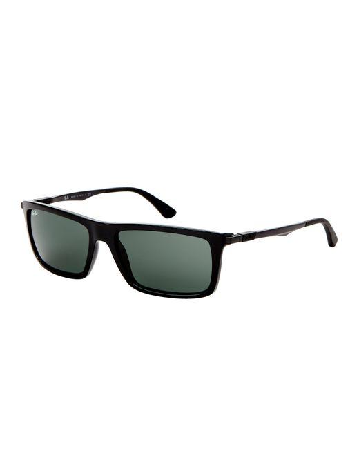 Ray-Ban - Rb4214 Black Rectangle Sunglasses for Men - Lyst
