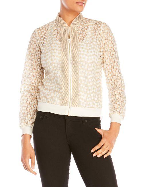 T Tahari | White Giselle Jacket | Lyst