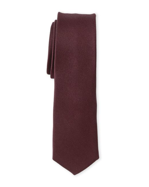 Burma Bibas | Red Solid Super Slim Tie for Men | Lyst