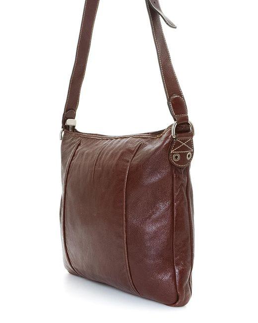 af8ba65bc54 ... Gucci - Brown Shoulder Bag - Vintage - Lyst ...