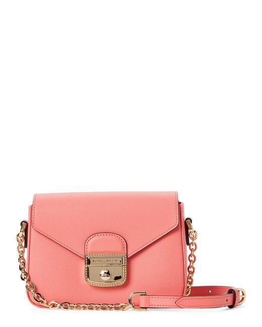 Longchamp - Pink Le Pliage Heritage Small Crossbody - Lyst
