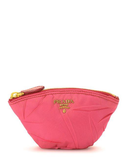 Prada - Pink Pouch - Vintage - Lyst