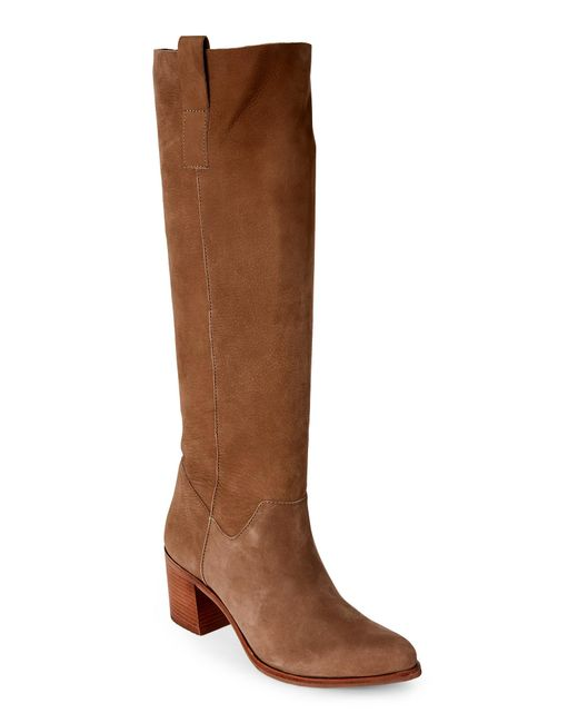 Steven by Steve Madden | Brown Taupe Duval Pointed Toe Tall Boots | Lyst