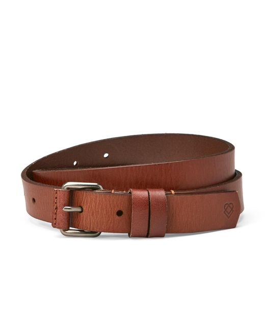 Liebeskind | Brown Leather Belt for Men | Lyst