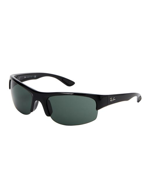 Ray-Ban - Black Rb 4173 Wrap Sunglasses for Men - Lyst