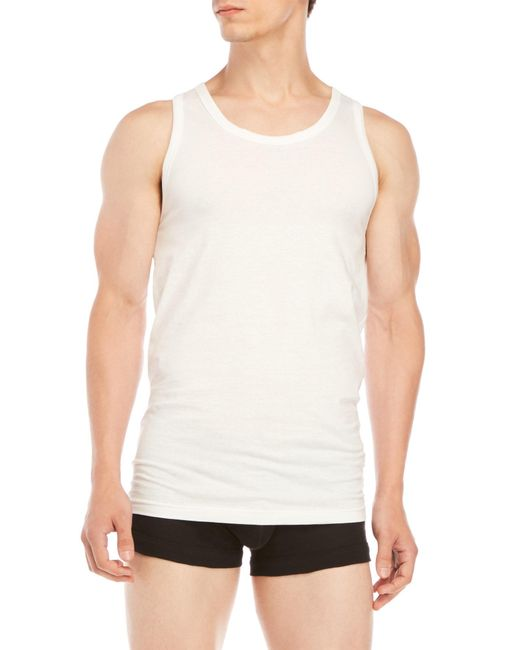 2xist - White 3-Pack Tank Tops for Men - Lyst