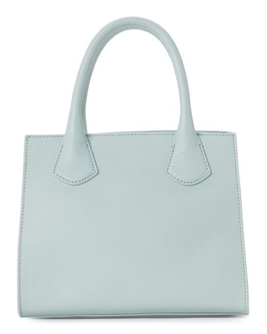 Patrizia Pepe - Blue Pure Water Mini Leather Satchel - Lyst