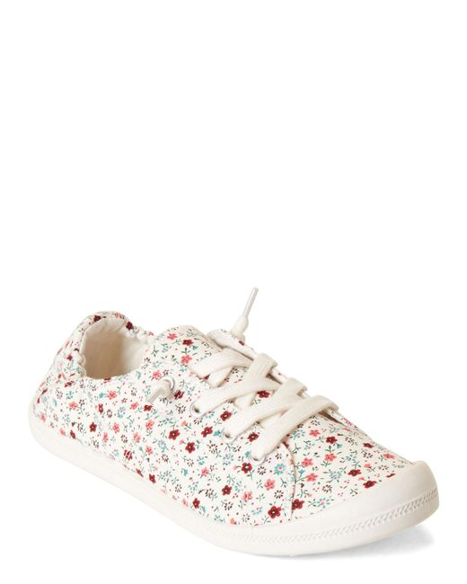 eb536b7893e Madden Girl - Multicolor Floral Baailey Canvas Slip-on Sneakers - Lyst ...