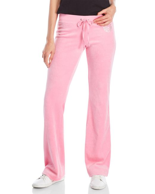 Juicy Couture | Pink Drawstring Jogger Pants | Lyst