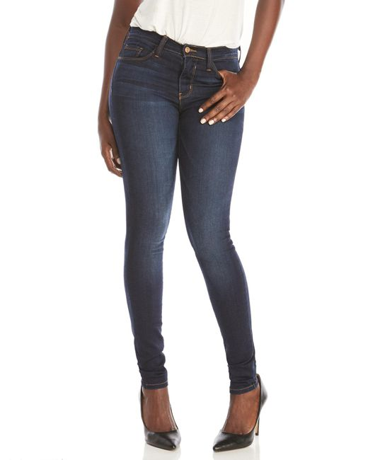 Flying Monkey - Blue High-Waisted Skinny Jeans - Lyst