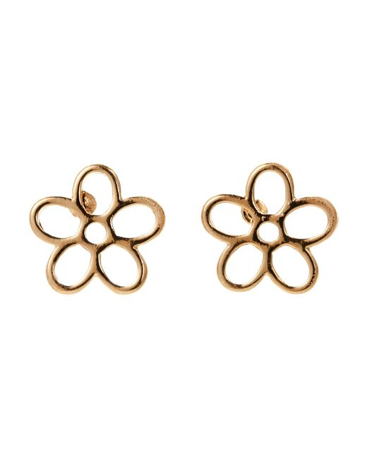 Marc By Marc Jacobs | Metallic Gold-Tone Daisy Studs | Lyst