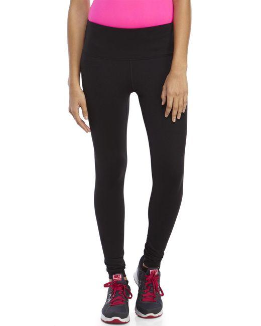 90 Degree By Reflex - Black High Waist Slimming Leggings - Lyst
