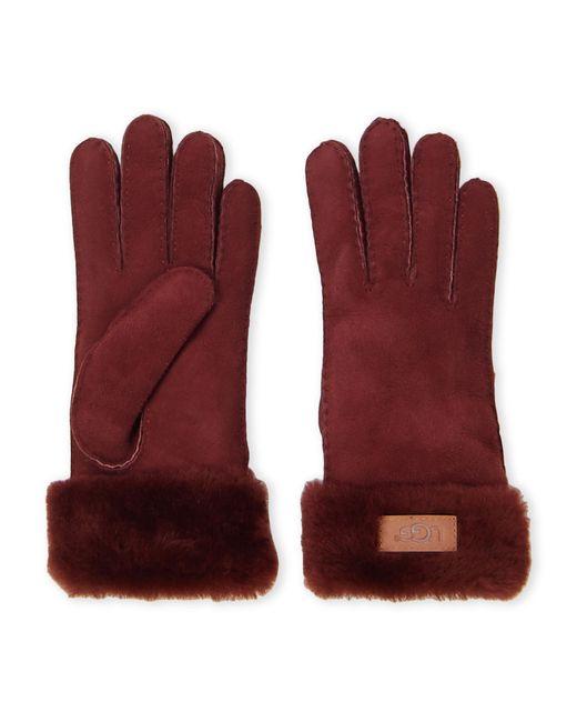 Ugg Multicolor Turn Cuff Sheepskin Gloves