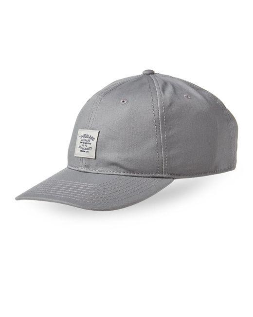 Timberland - Metallic Logo Patch Baseball Cap for Men - Lyst