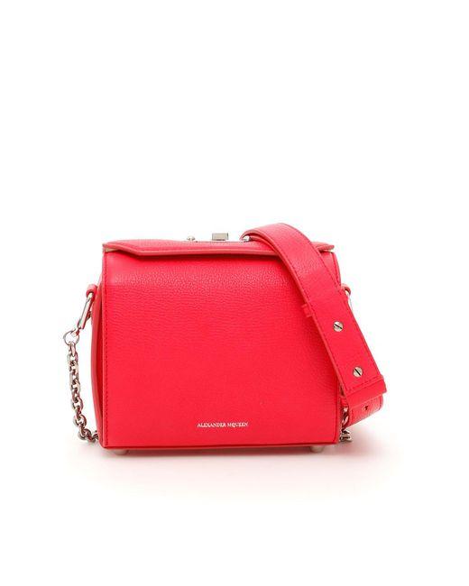 Alexander McQueen - Pink Box Bag Shoulder Bag - Lyst