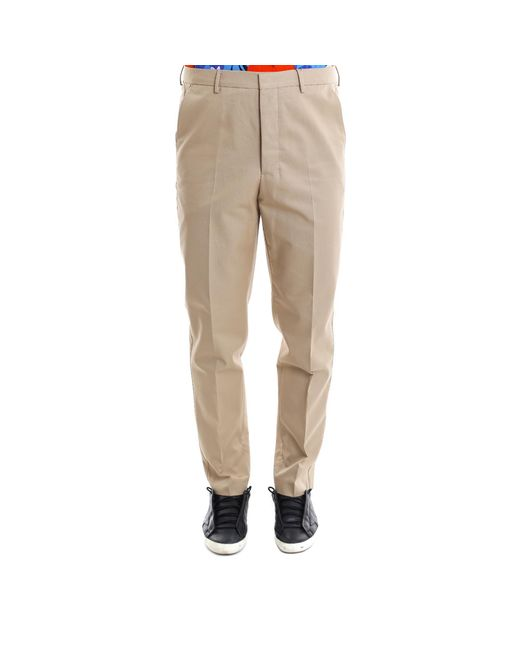 AMI - Natural Chinos for Men - Lyst