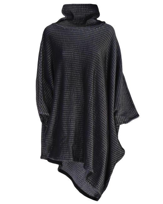 Issey Miyake - Textured Roll Neck Smock Dress - Lyst
