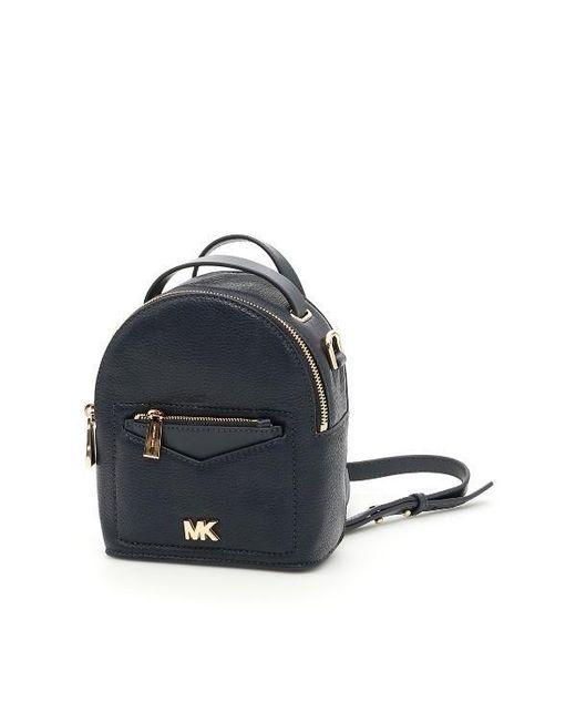 MICHAEL Michael Kors - Blue Jessa Extra Small Bag - Lyst