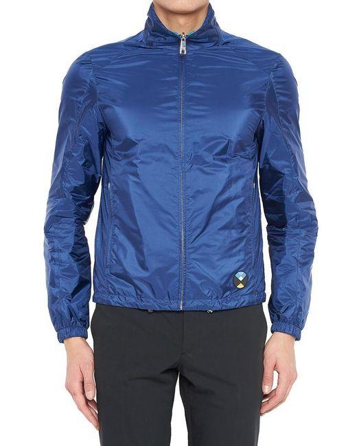 Prada - Blue Reversible Zip Jacket for Men - Lyst
